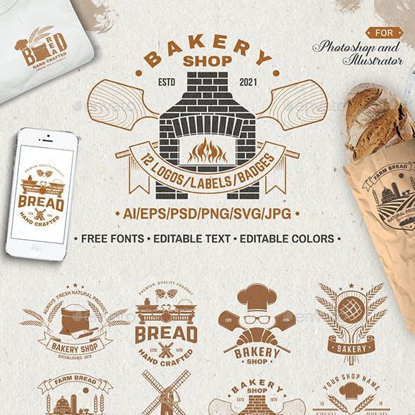 Bakery Shop Badge Part. 2