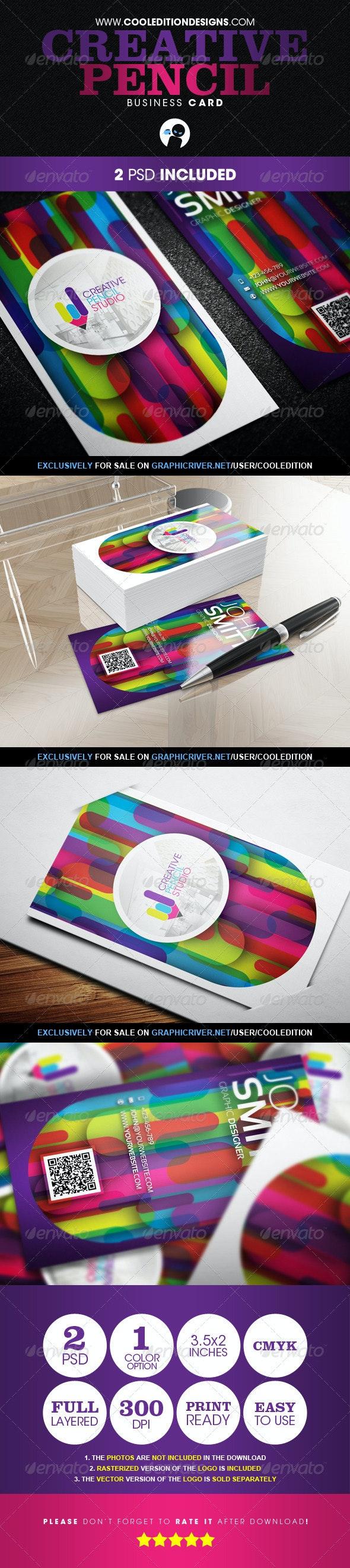 Creative Pencil - Business Card - Creative Business Cards