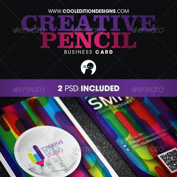 Creative Pencil - Business Card