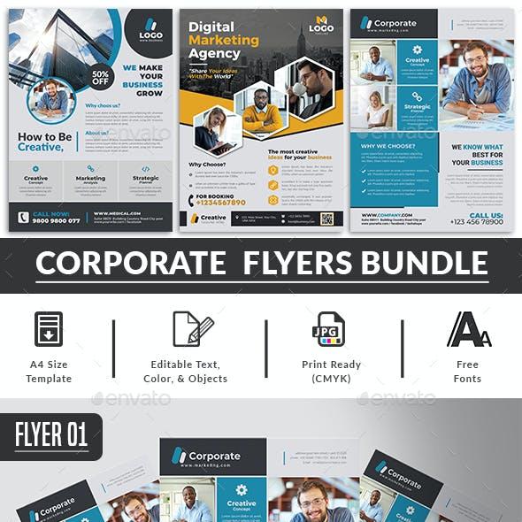 Corporate Flyer Bundle