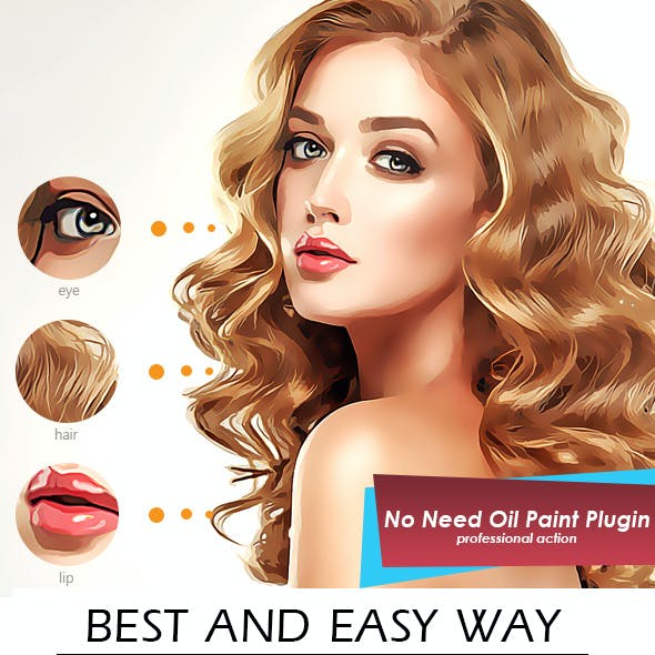 Artistic Oil Painting Photoshop Action