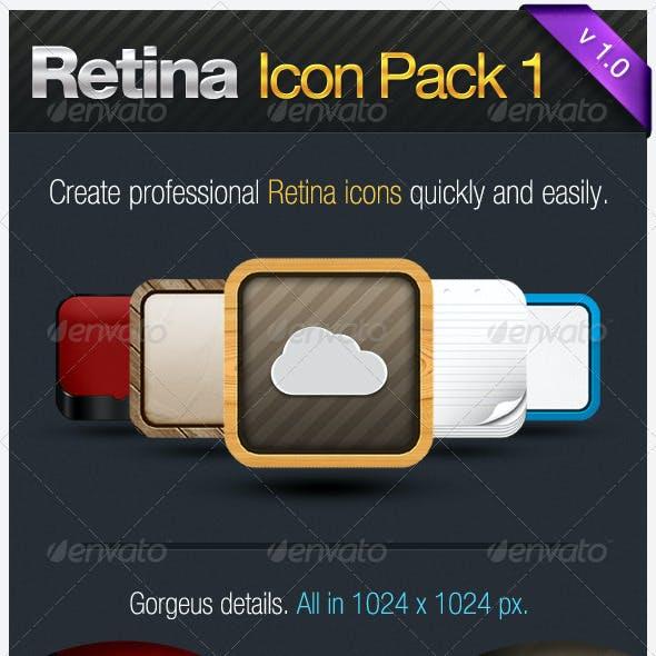 Retina Icon Pack I