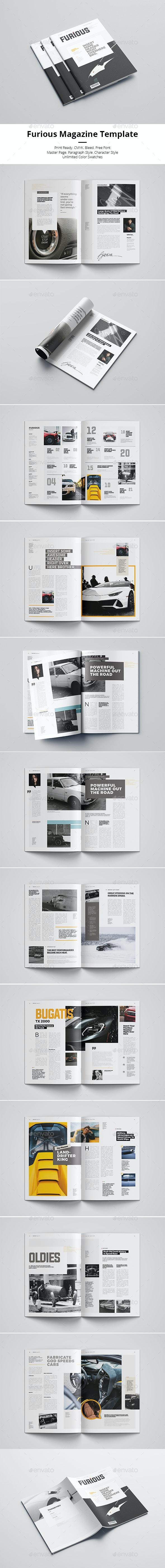 Furious - Magazines Print Templates