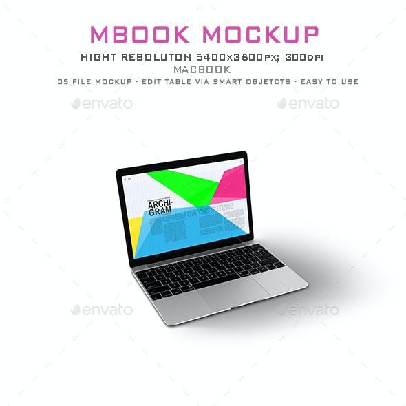 MBook Mockup