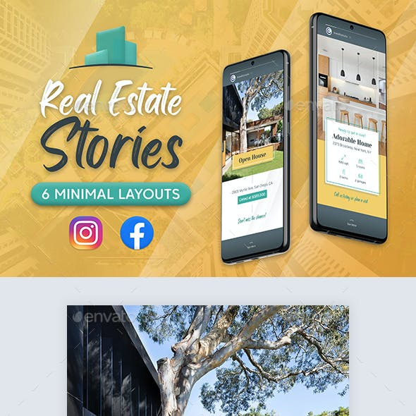 Real Estate Stories for Facebook and Instagram