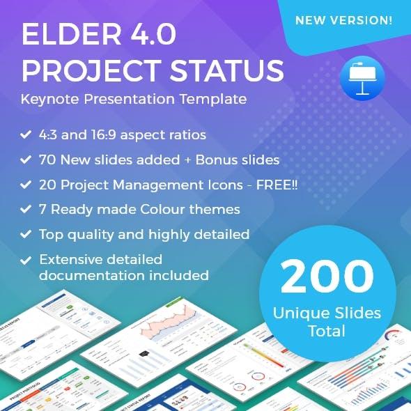 Elder 4.0 – A Project Status Report Keynote Template
