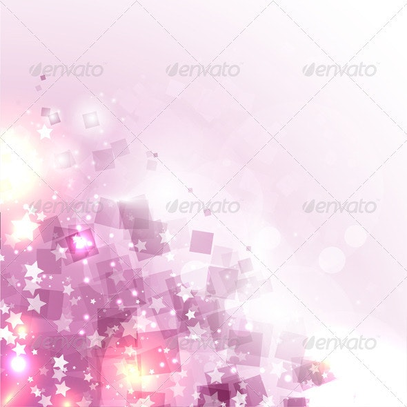 Stars and squares background - Backgrounds Decorative