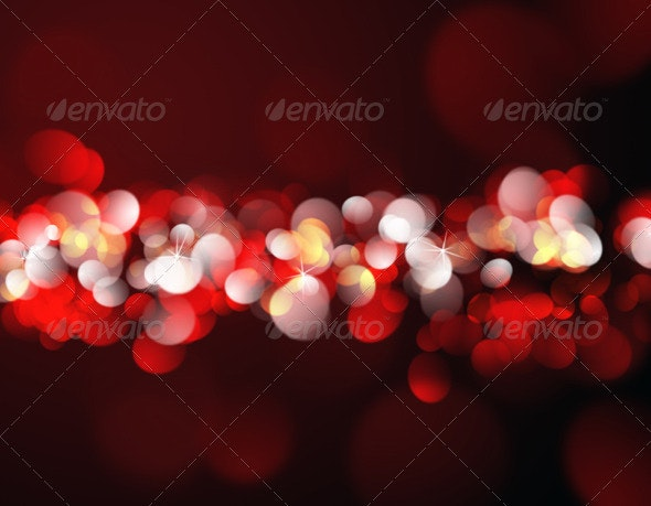 Christmas Lights - Abstract Backgrounds