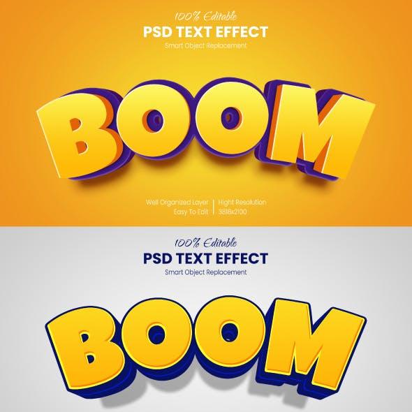 Cartoon Photoshop Text Effects - Comic Styles