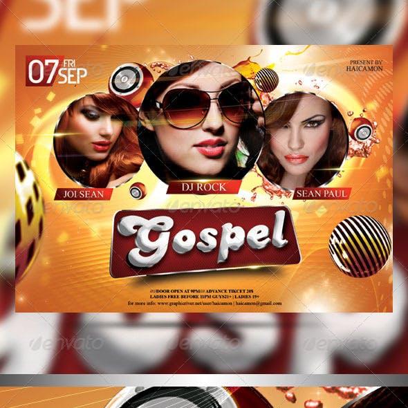 The Gospel Party Flyer