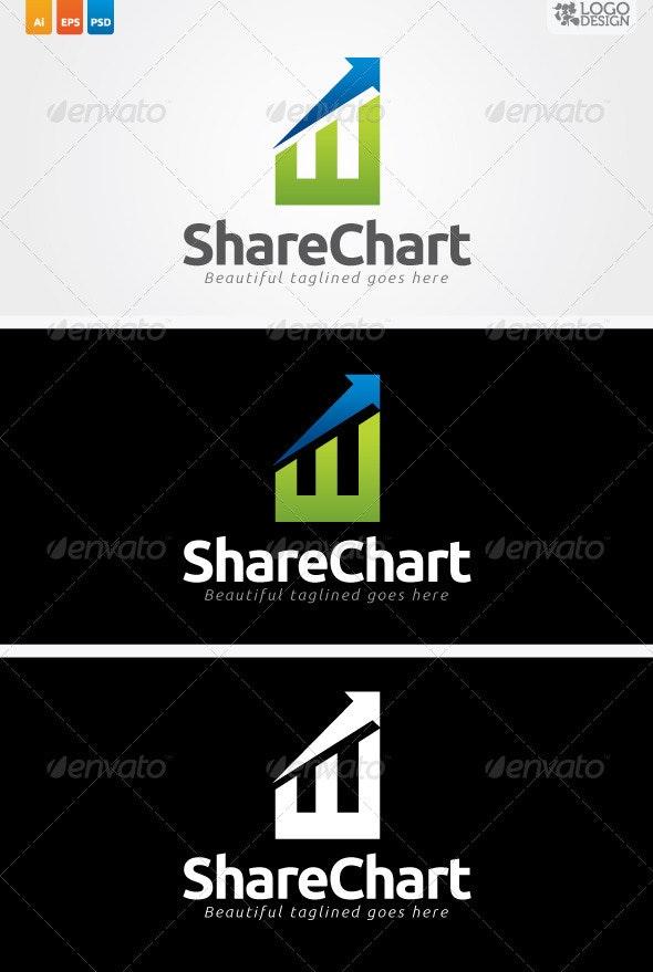 Share Chart - Symbols Logo Templates