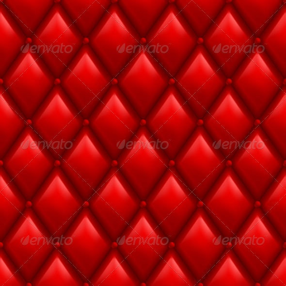 Red Leather Background - People Characters