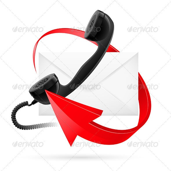 E-mail arrows - Communications Technology