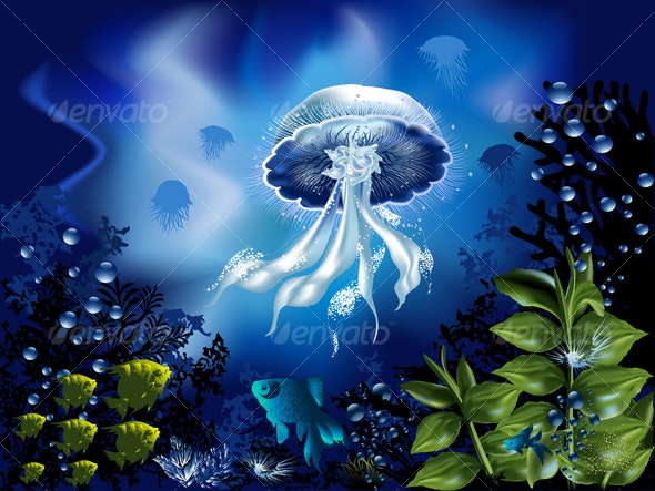 Underwater World - Nature Conceptual