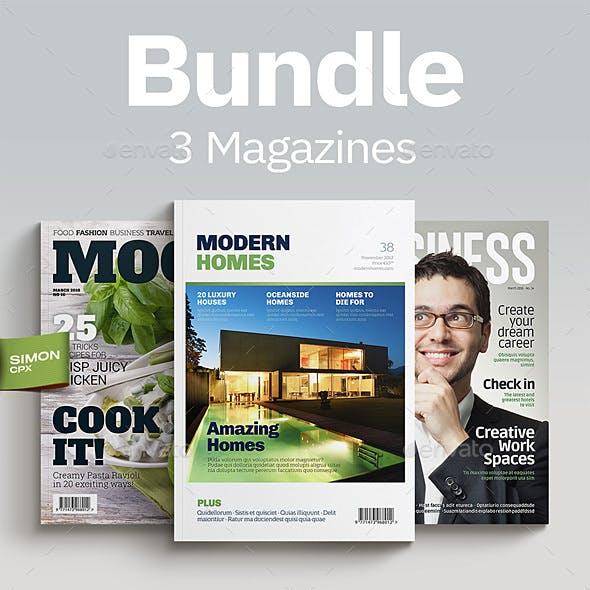 Magazine Bundle Vol. 1-2-3