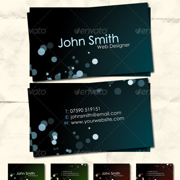 Style in Dark - Premium Business Card