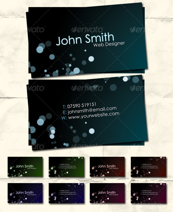 Style in Dark - Premium Business Card - Creative Business Cards