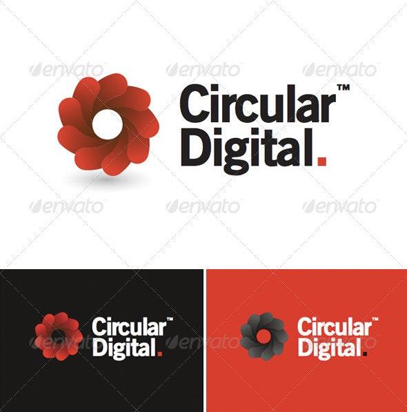 Circular Digital Logo - Symbols Logo Templates