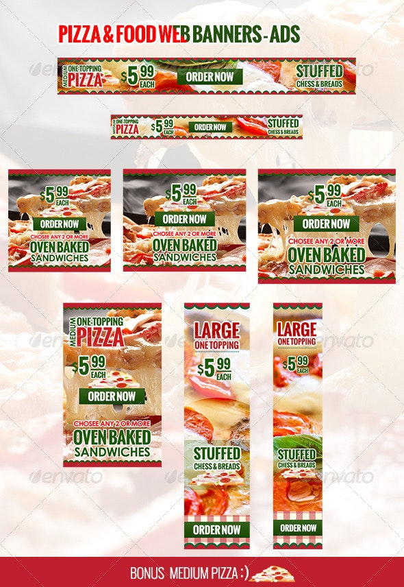 Food Banners & Ads