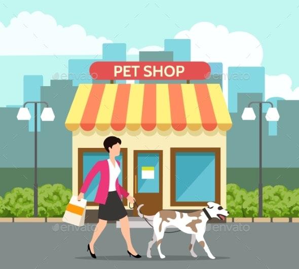 Pet Shop Building - Buildings Objects