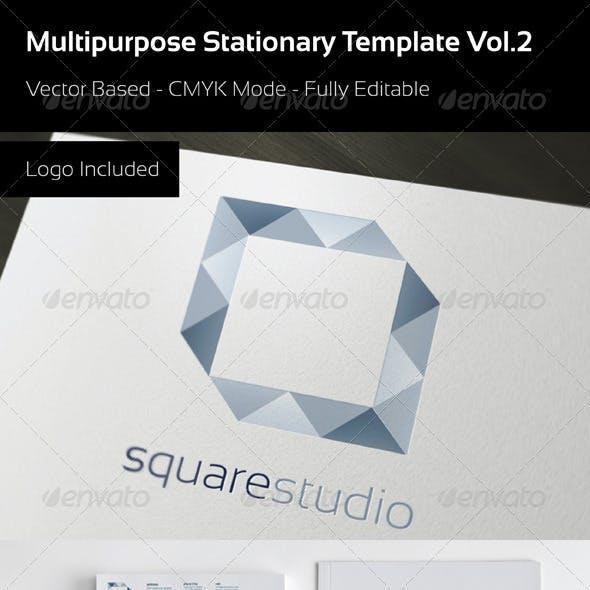 Multipurpose Stationary Template