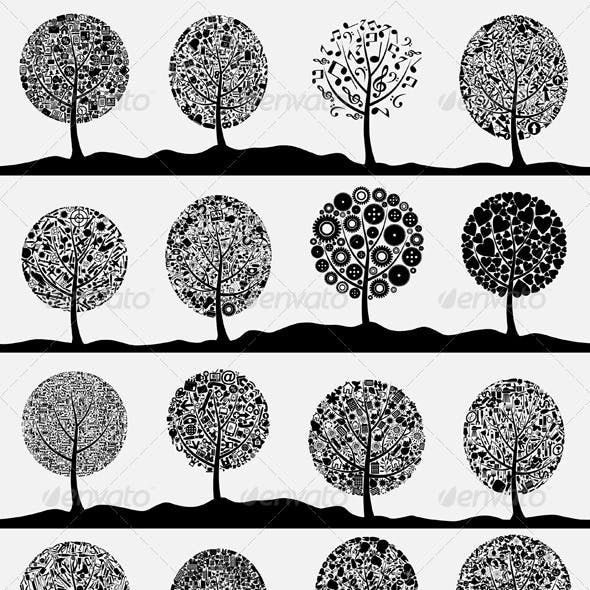 Collection of trees3
