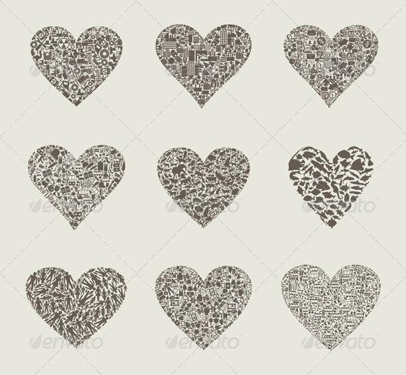 Heart design an element - Valentines Seasons/Holidays
