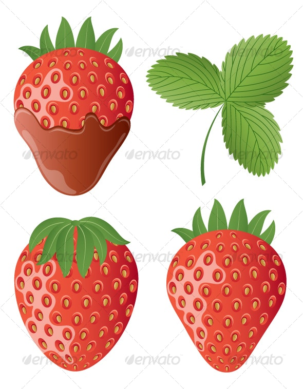 Strawberry - Food Objects