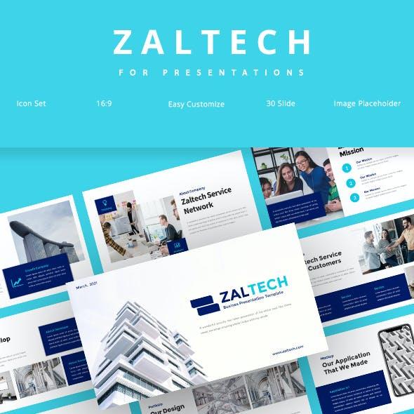 Zaltech - Business Google Slide Template