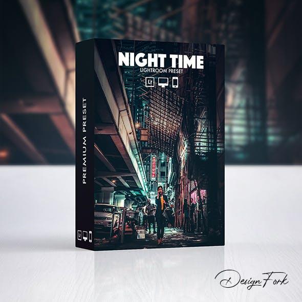 Night Time Lightroom Preset