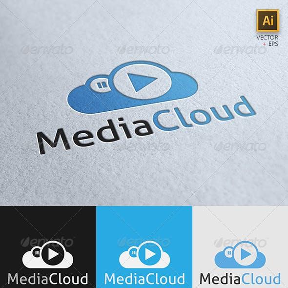 """""""MediaCloud"""" Logo Template"""