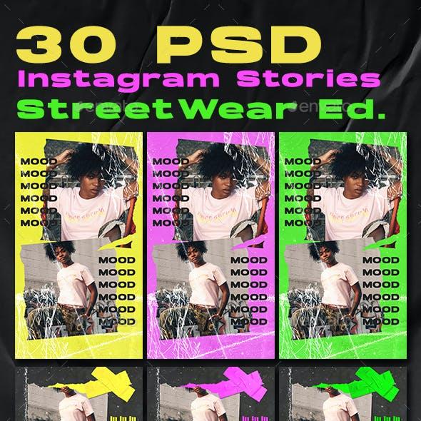30 Streetwear Instagram Stories Design