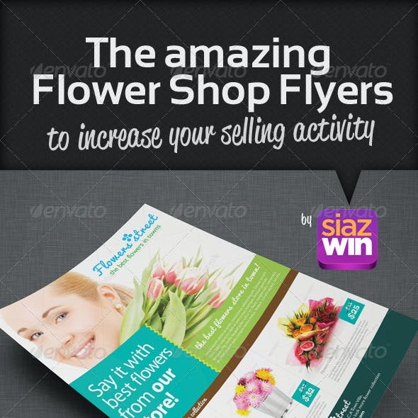 The Flower Shop Flyers