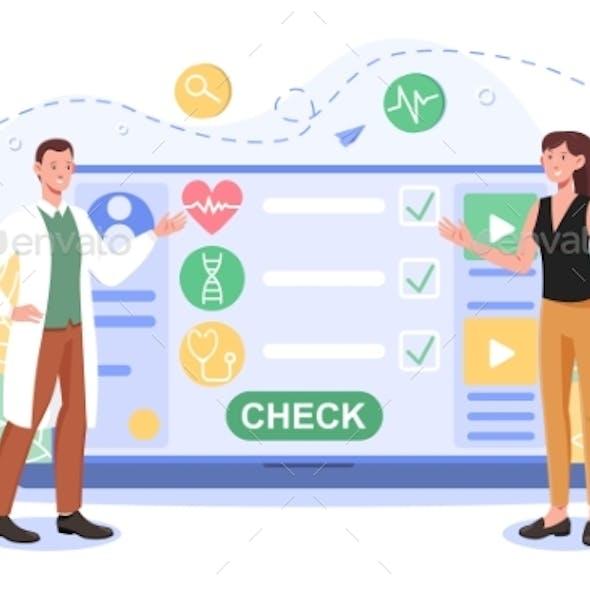 Online Medical Advise or Consultation Service