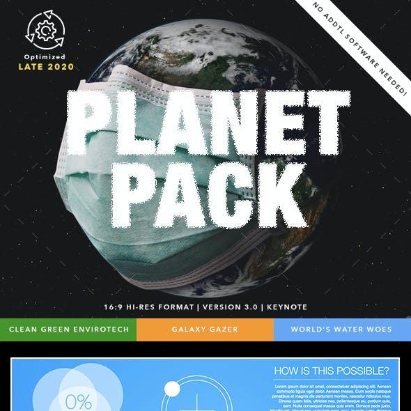 Planet Pack Keynote Presentation Bundle