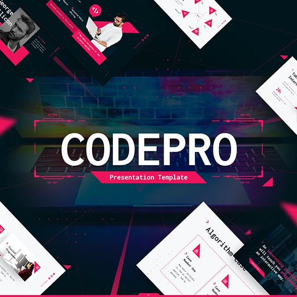 Codepro Technology PowerPoint Presentation Template Fully Animated