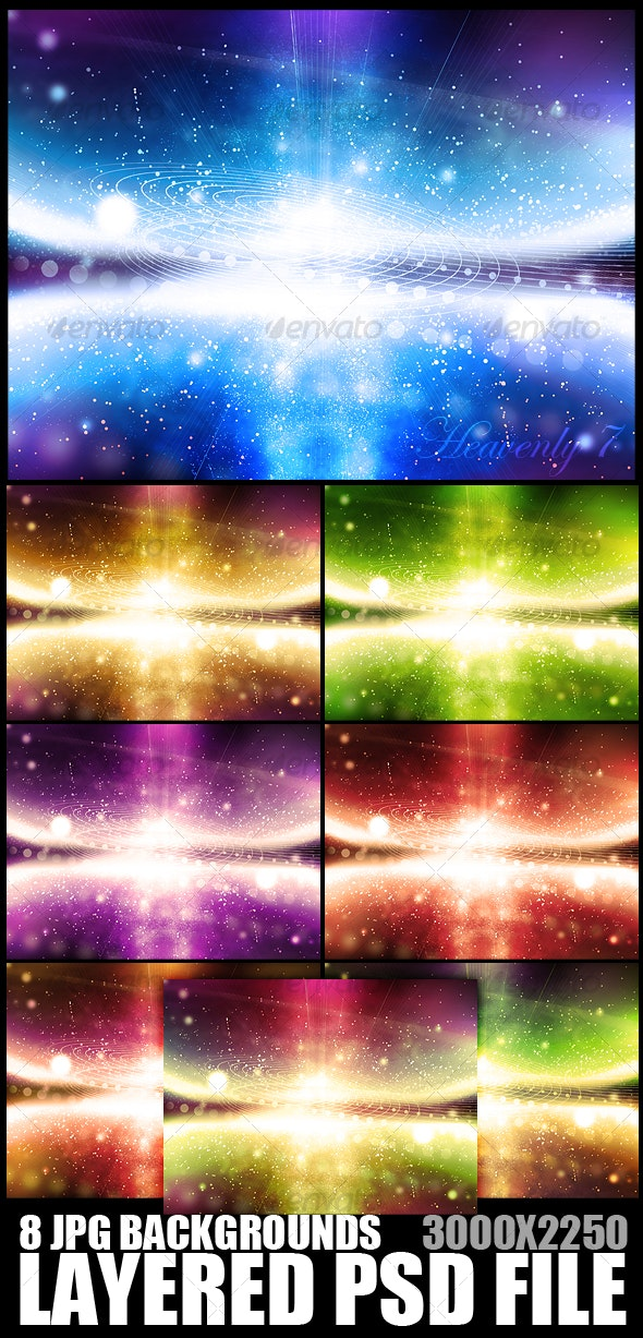 Heavenly Background 7 - Backgrounds Graphics