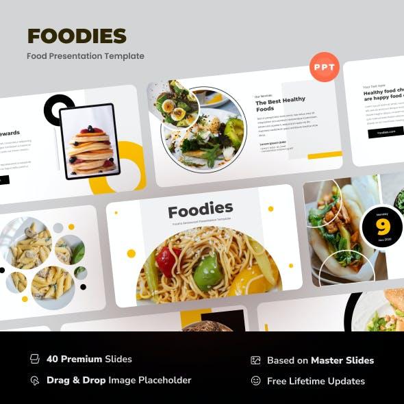 Foodies - Food & Restaurant PowerPoint Template