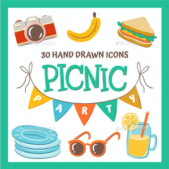 Hand Drawn Picnic Party