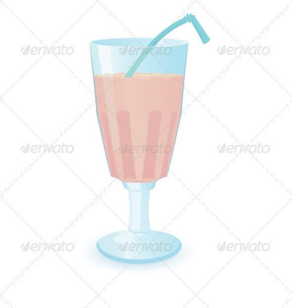 One milkshake - Food Objects