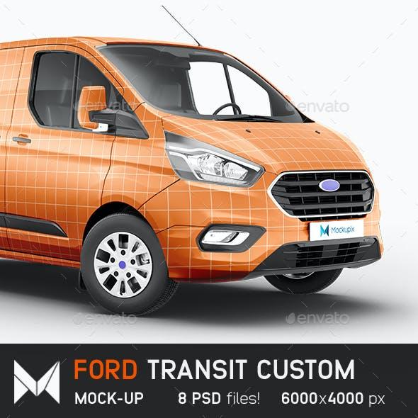 Ford Transit Custom Mockup