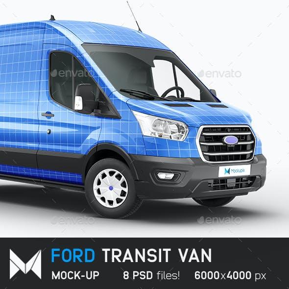 Ford Transit Van Mockup