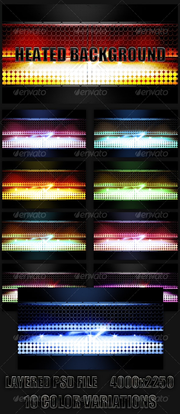 Heated Background. - Backgrounds Graphics