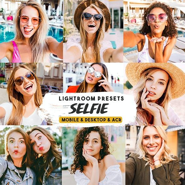Selfie Lightroom Mobile Presets & desktop