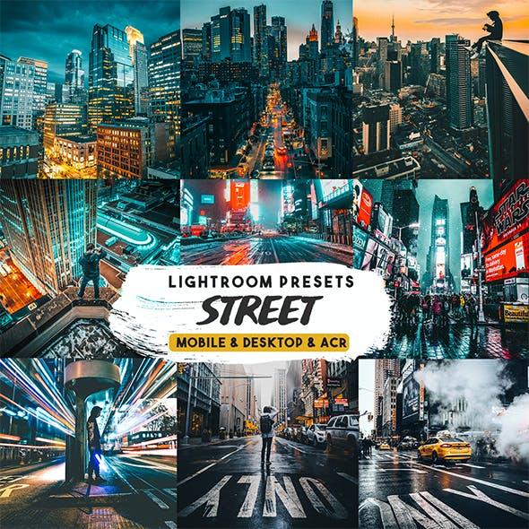 Street Photography Lightroom Presets Mobile & desktop.
