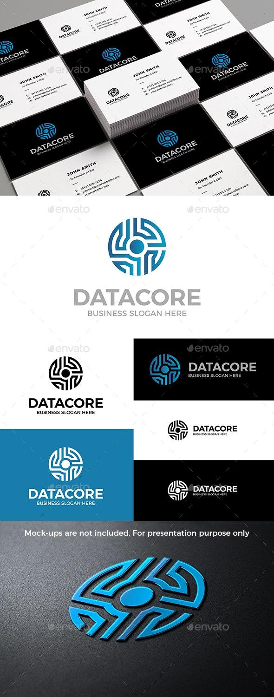 Data Core Logo - Symbols Logo Templates