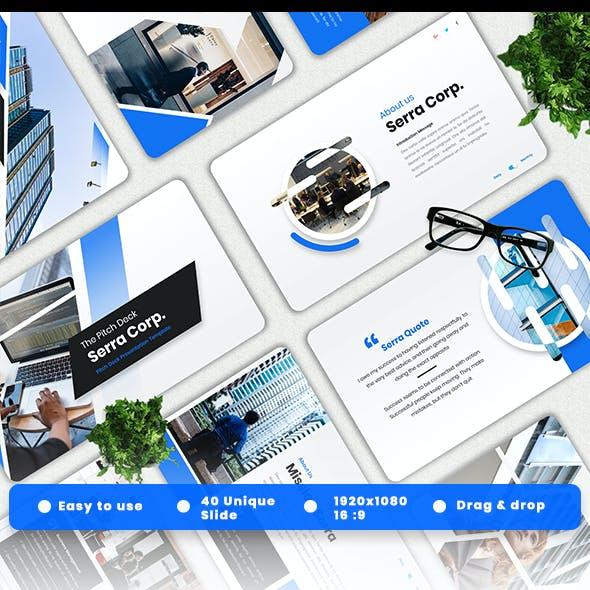 Serra - Pitch Deck Powerpoint Template