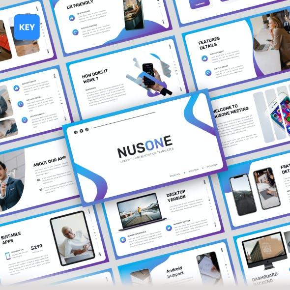 Nusone - Mobile App Keynote Presentation Templates