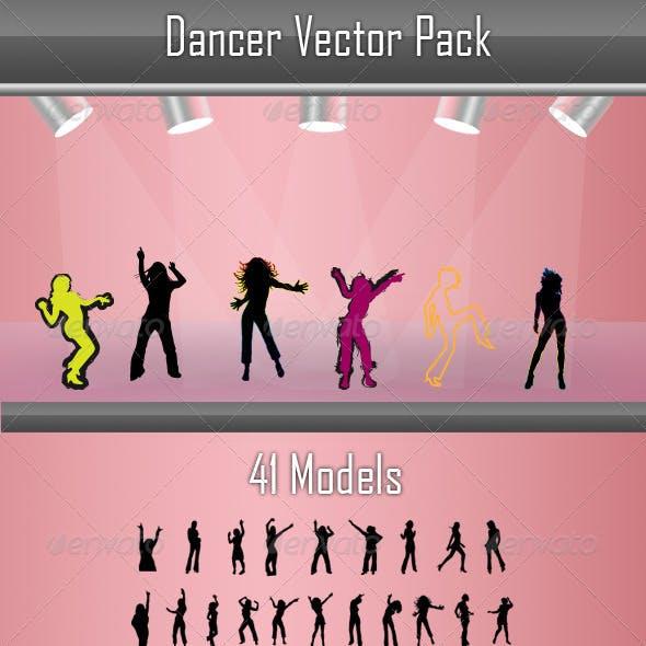 Dancer Vector Pack
