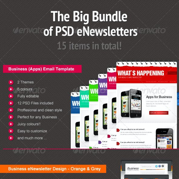 Bundle of Business and eCommerce eNewsletters
